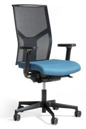Ergonomische bureaustoel Fin Mirage zijkant